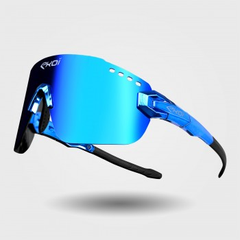 Sunglasses EKOI PREMIUM 80 LTD BLUE