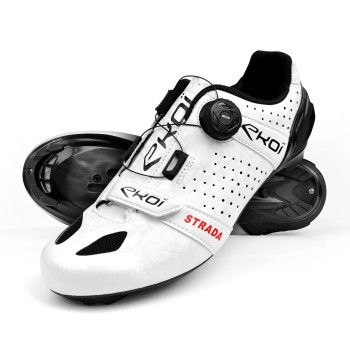 Road Shoes EKOI STRADA 2 White