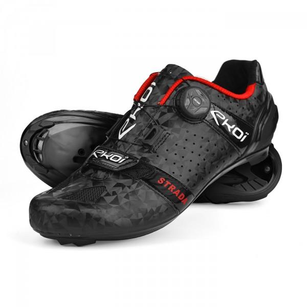 Road Shoes EKOI STRADA Cristal Evo2 Black