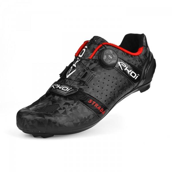 Chaussures route EKOI STRADA 2 Noir