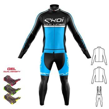 3 dílný set zimního oblečení Gel 3D EKOI LINEA LTD Modrá