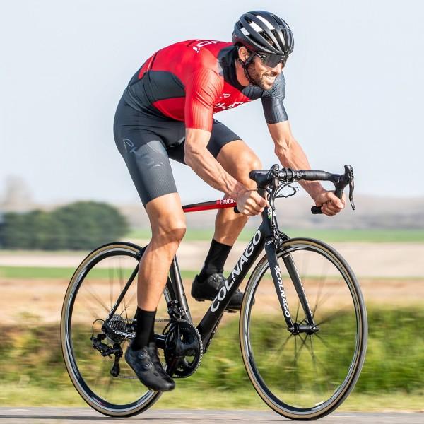 Cuissard vélo EKOI 3D GEL EVO Gris