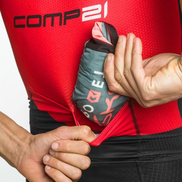 Completo estivo 3D GEL EKOI COMP21 Nero Rosso