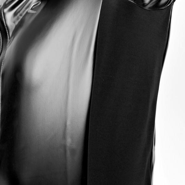VESTE EKOI SHINY BLACK