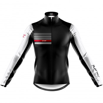 EKOI AERO LINE THERMAL JACKET BLACK WHITE