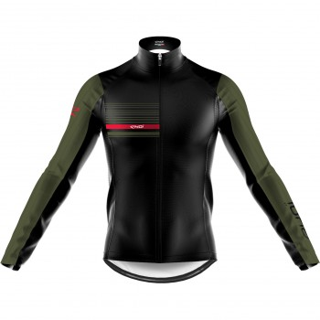 EKOI AERO LINE THERMAL JACKET BLACK KHAKI