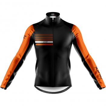EKOI AERO LINE THERMAL JACKET BLACK NEON ORANGE