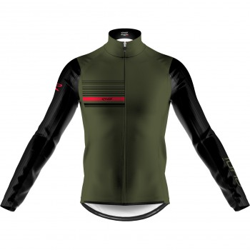 EKOI AERO LINE THERMAL JACKET KHAKI BLACK