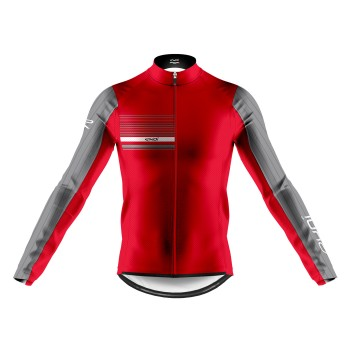 EKOI AERO LINE WINTER JERSEY GREY RED