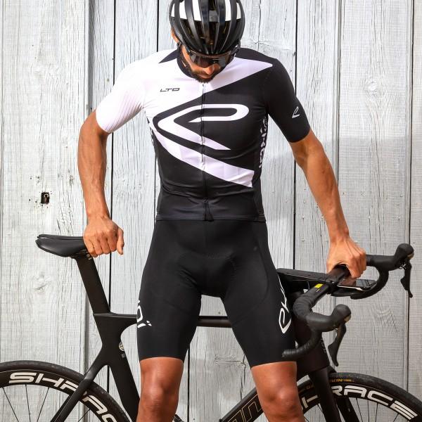 Cuissard Vélo Ekoï E LTD 3D Gel Noir Blanc