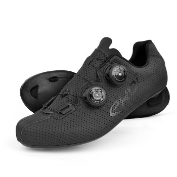 Zapatillas de carretera EKOI CARBON R5 negro mate