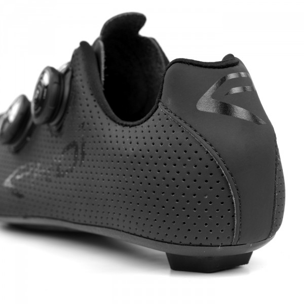 Chaussures route EKOI CARBON R5 noir mat