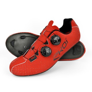 Zapatillas carretera EKOI CARBON R5 rojo mate