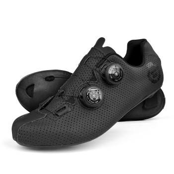 Zapatillas de carretera EKOI CARBON R5 Lady negro mate