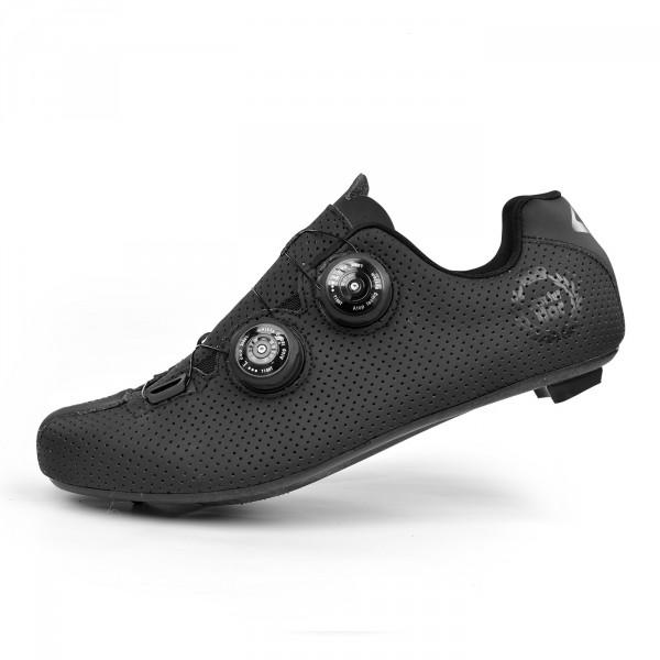 Chaussures route EKOI CARBON R5 Lady noir mat