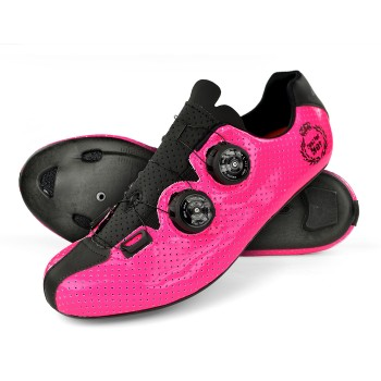 Chaussures route EKOI CARBON R5 Lady rose
