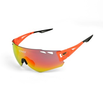 Lunettes EKOI PERSOEVO10 LTD Orange fluo Revo Rouge Cat3