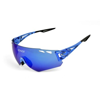 Sun GlassesEKOI PERSOEVO10 LTD Chrome Blue Revo Blue Cat3