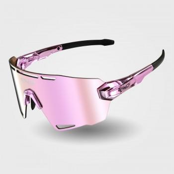 EKOI PREMIUM 90 LTD STAR Sunglasses Pink Chrome