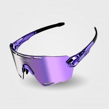 Sunglasses EKOI PREMIUM 90 LTD STAR Purple Chrome