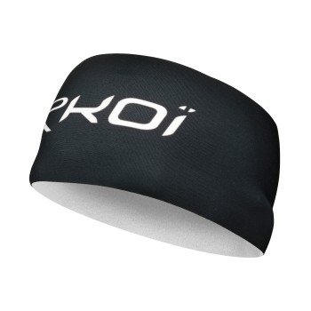 HEAD BAND  EKOI THERMO BLACK / WHITE