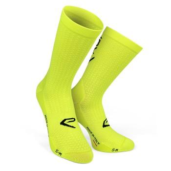 Socks EKOI LINE PRO NEON YELLOW