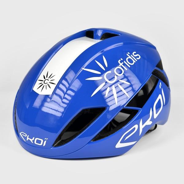 EKOI AR14 ヘルメット Proteam COFIDIS ブルー