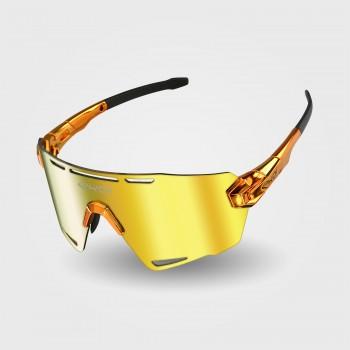 Sunglasses EKOI PREMIUM 90 LTD STAR Orange Chrome
