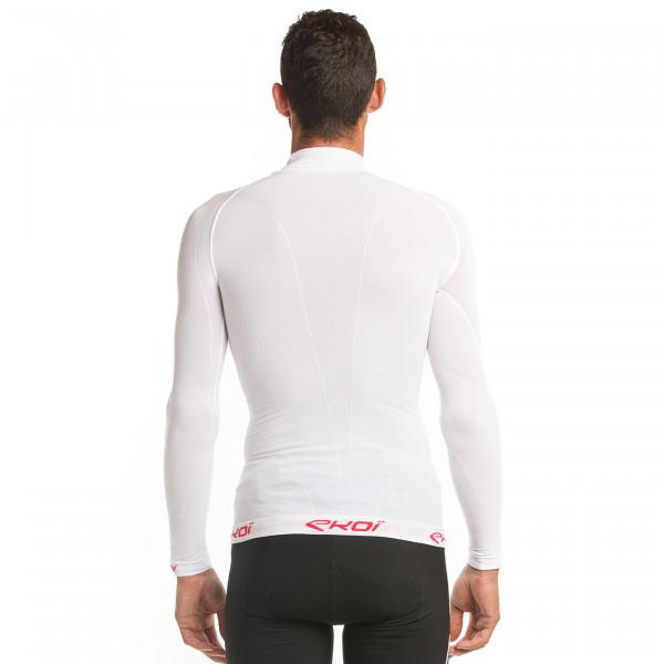 Sous-maillot ekoi thermo col haut blanc 2021