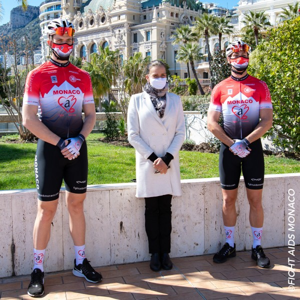 MAILLOT MANCHE COURTE AIDS MONACO BY EKOI