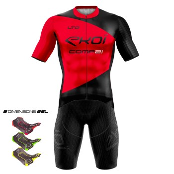 Gear 3D GEL EKOI COMP21 Black /Red
