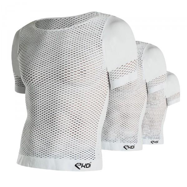 Pack 3 Sous vêtement EKOI SUNTECH manches courtes