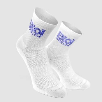 Women's Socks Ekoï Sara White