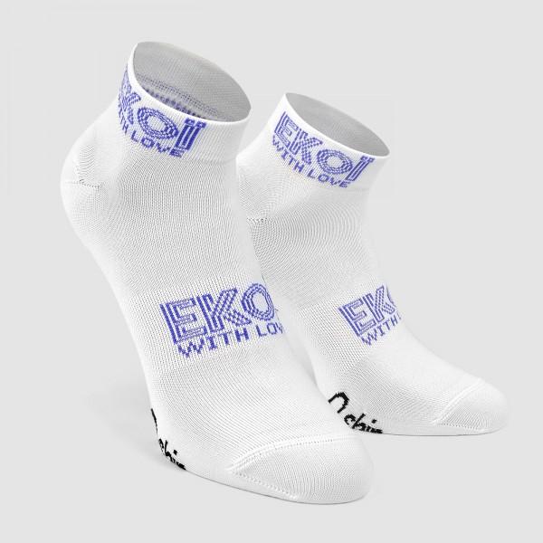 Socquettes Femme Ekoï Stella Blanc