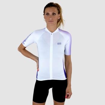 Ladies jersey Ekoï Gaby White/purple