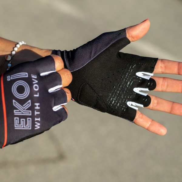 Gants vélo Femme EKOI GRETA Noir