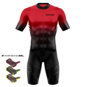 Zomeroutfit 3D GEL EKOI STAR Rood