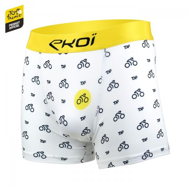 Boxer Tour de France By EKOI Vélo Blanc