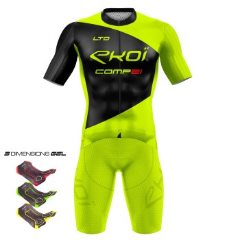 Gear 3D GEL EKOI COMP21 Neon Yellow