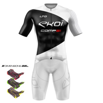 Gear 3D GEL EKOI COMP21 White/Black