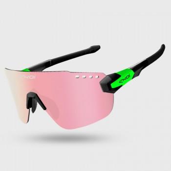 Glasses EKOI PREMIUM 80 LTD Black Green PH Red