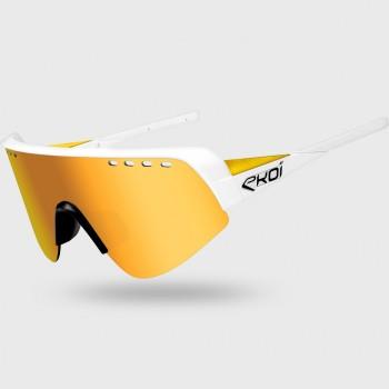 Brille EKOI TWENTY LTD Weiß  Gold Cat3 HD Gold