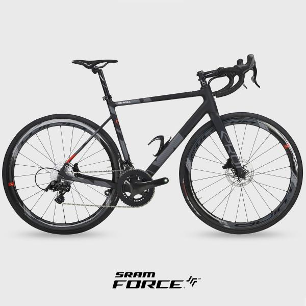 Cykel landevej carbon EKOI by DE ROSA VENTI SRAM FORCE eTap sort