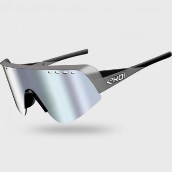 Glasses EKOI TWENTY LTD Grey/Black Cat3 HD Silver