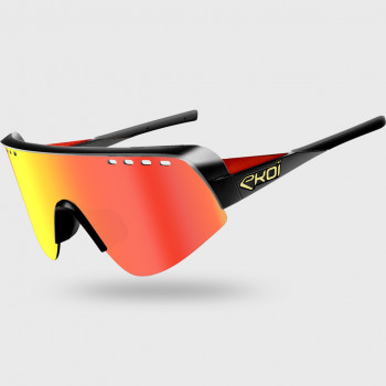 Glasses EKOI TWENTY LTD Black Red Cat3 HD Red