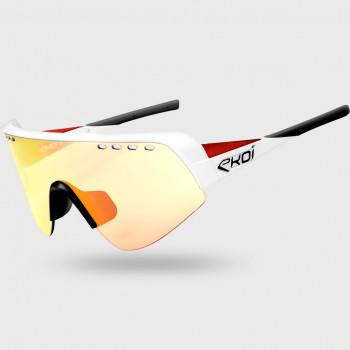 Glasses EKOI TWENTY PRO White/Red Photochromic