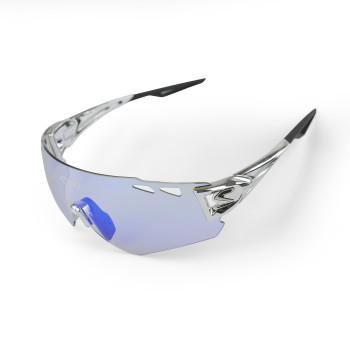 Brille EKOI PERSOEVO10 LTD Chrome Silber PH Blau