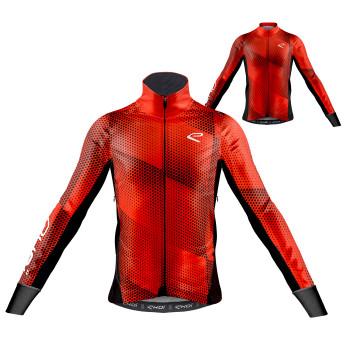 Sæt termojakke og trøje ELEGANCE rød