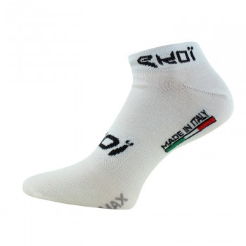 EKOI white COOLMAX low cuff socks