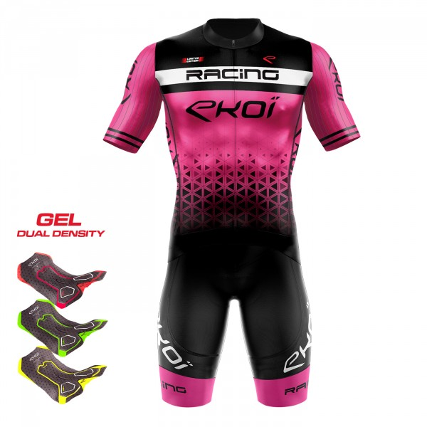 Pack 3D GEL EKOI LTD RACING Rose fluo